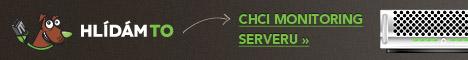 Monitoring serverů Hlidam.to